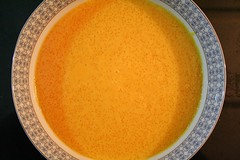 vegetable(0.0), plant(0.0), calabaza(0.0), produce(0.0), tarhana(1.0), bisque(1.0), food(1.0), dish(1.0), broth(1.0), soup(1.0), cuisine(1.0),