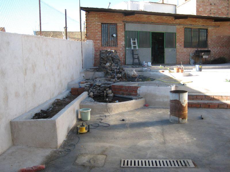 ... de mi estanque de obra (cemento y ladrillos) paso a paso - Foro de