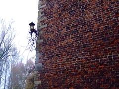 einsame Laterne - Burg Schermbeck