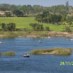 Kaveri River and Fishermen