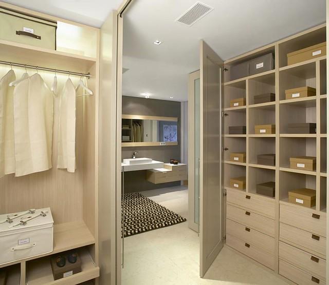 Baño Vestidor Arquitectura:Baño principal y vestidor 03