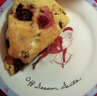 #4: off season santa scone