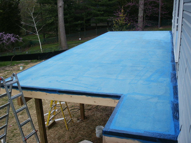 Deck Waterproofing Membrane : Deck waterproof membrane flickr photo sharing