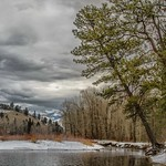 18. Veebruar 2017 - 15:08 - Winter along the banks of the Bitterroot at Maclay Flats in Missoula, Montana.