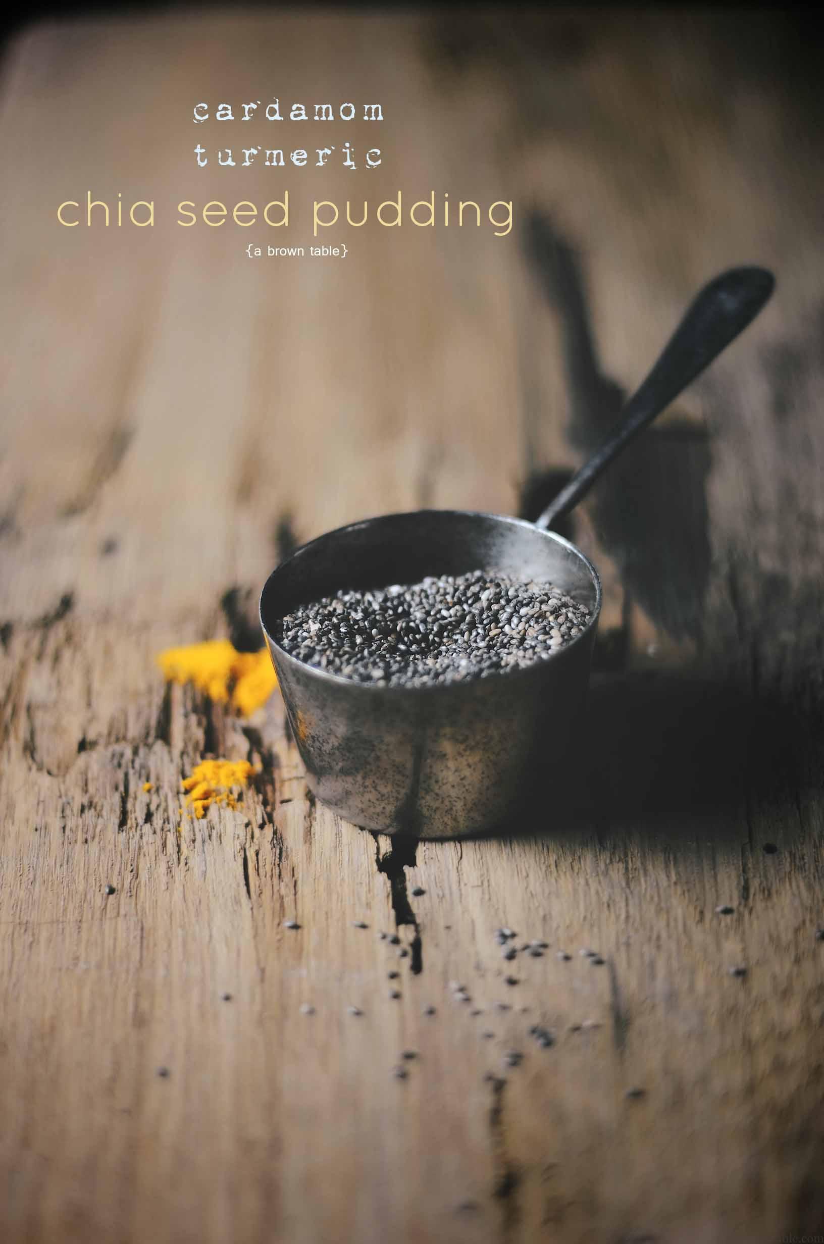 turmeric chia seeds