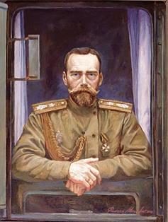 Filipp Moskvitin. Tsar St Nikolai Aleksandrovich. 2000 by 01varvara