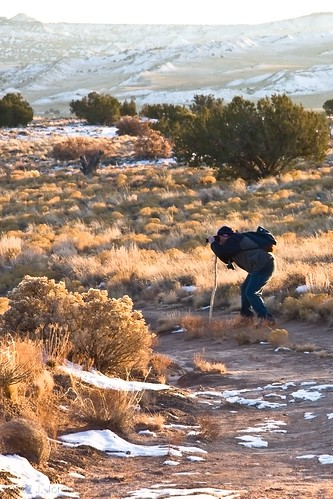 road sunset snow newmexico photographer walkingstick ojito twotrack ojitowilderness