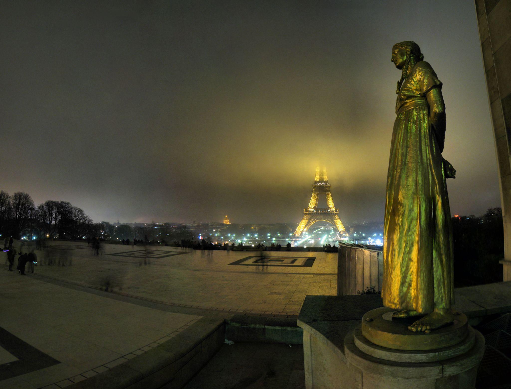 Paris - Trocadéro - 24-12-2007 - 21h33