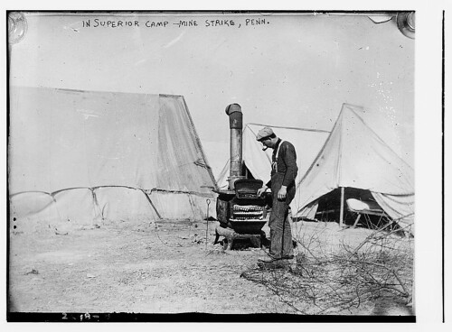 In Superior Camp - Mine strike, Penn. [i.e., Pennsylvania]  (LOC)