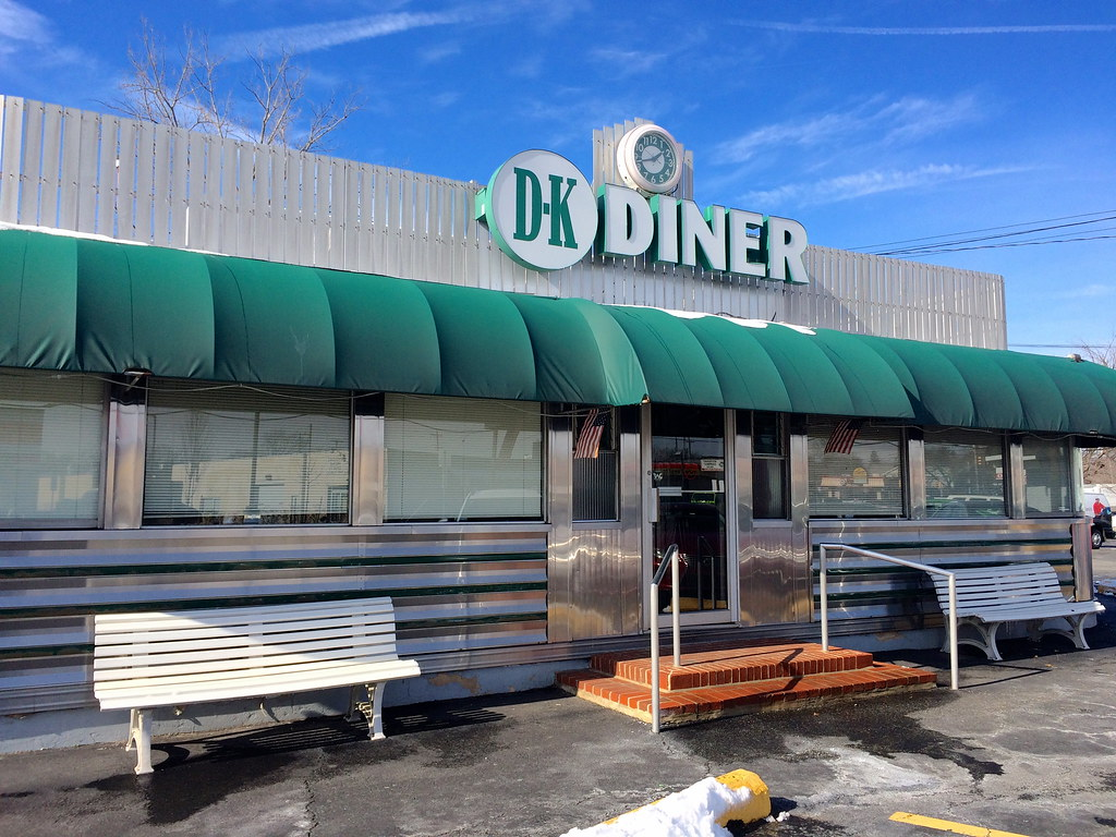 DK Diner West Chester PA - Pennsylvania - Retro Roadmap 2017