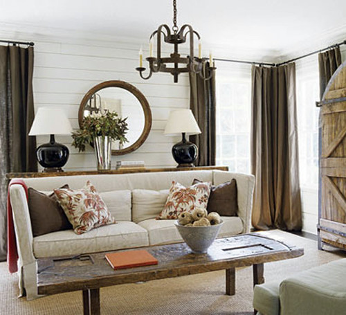 From Apartment Therapy: House Beautiful living room inspiration ...
