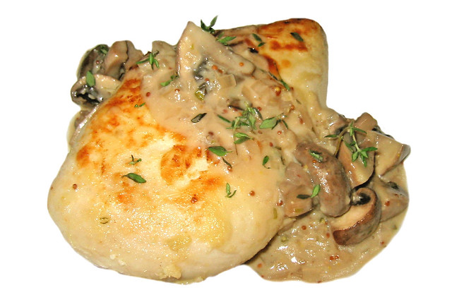 ... Breast With Champagne - Mushroom Sauce | Flickr - Photo Sharing