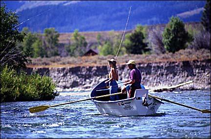 Fly fishing snake river heather thomas jackson hole for Snake river fly fishing