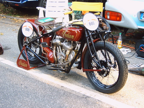 Indian motorcycle @ StadtparkRevival 2004