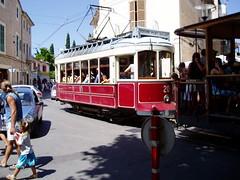 Tram In Majorca