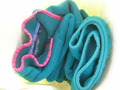 footwear(0.0), knot(0.0), thread(0.0), rope(0.0), textile(1.0), aqua(1.0), turquoise(1.0), teal(1.0),