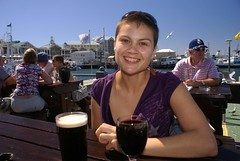 Chantel at Quay Four Pub, Waterfront, Cape Town