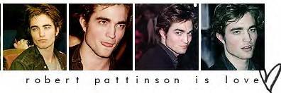 Robert Pattinson banner