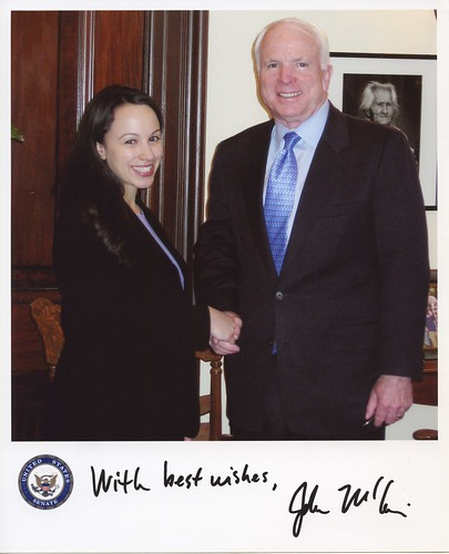 Meeting Senator John McCain