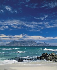 Table Mountain in the Mists - South Africa