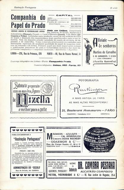 Ilustração Portugueza, No. 457, November 23 1914 - 1