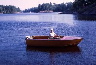 Grandpa Boat 1969 Riley Lake