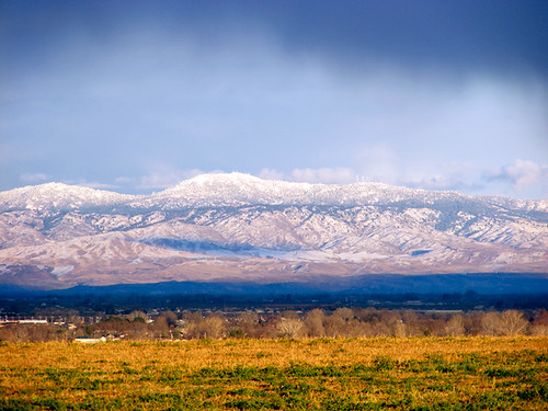 snowy mountains in Idaho