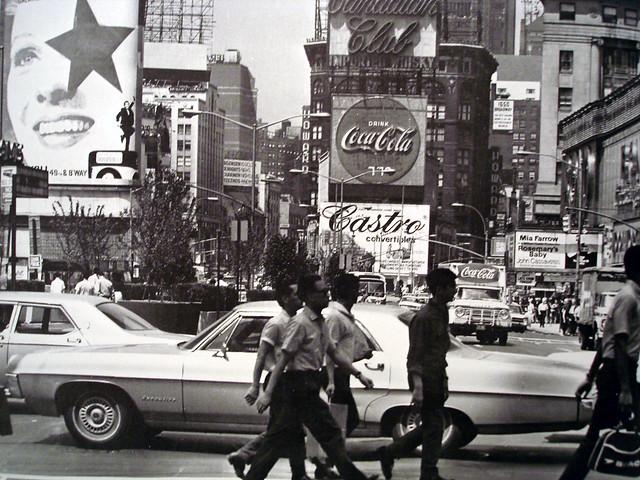 Taxi Albany Ny >> 1960's New York City Manhattan Times Square | Photoscream ...
