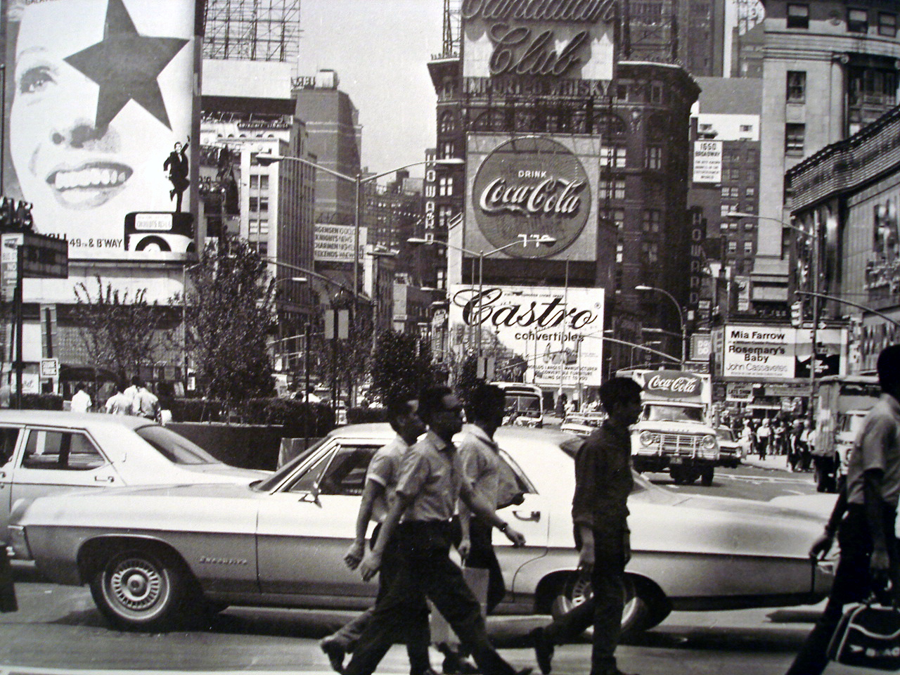 Image result for TIMES SQUARE 1960'S