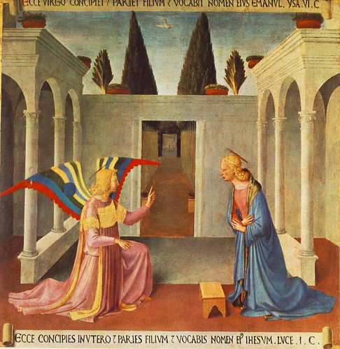 ANGELICO, Fra Annunciation, c1450