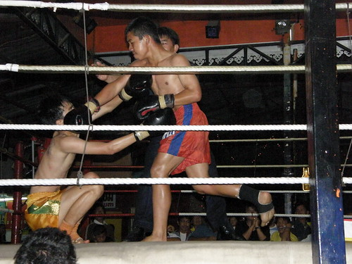 Muay Thai fight in Chiang Mai