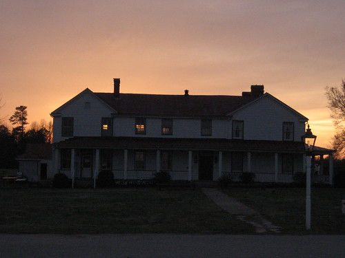 sunset twilight civilwar livinghistory forkinn