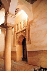 Inside saadian tombs