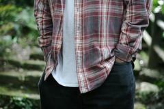 pattern(1.0), textile(1.0), clothing(1.0), maroon(1.0), outerwear(1.0), fashion(1.0), design(1.0), tartan(1.0), spring(1.0), plaid(1.0),