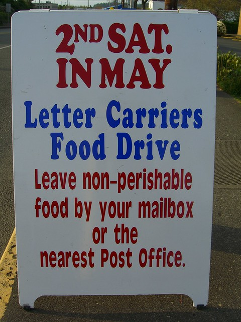 Letter Carriers Food Drive Flickr Photo Sharing