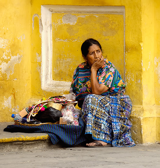 Woman in Antigua, Guatemala by Abe K, on Flickr