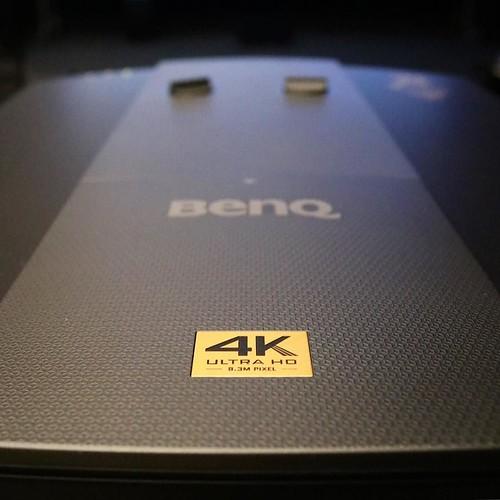 4K画質のプロジェクターですよ。 #BenQアンバサダー #reviews_ad