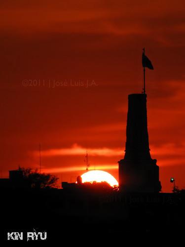 parque sunset mexico atardecer la monumento bandera gutierrez chiapas morelos tuxtla mexicanidad chiapaneca