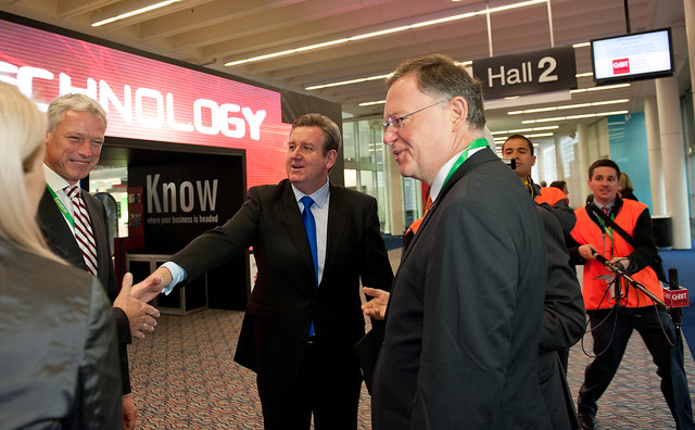 CeBIT Australia 2011 - Exhibition Tour For NSW Premier - 30/05/2011