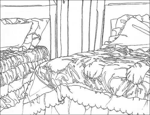 Contour Line Drawing App : Contour drawing flickr photo sharing