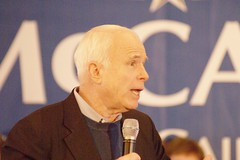 John McCain (featured on http://news.yahoo.com/elections)