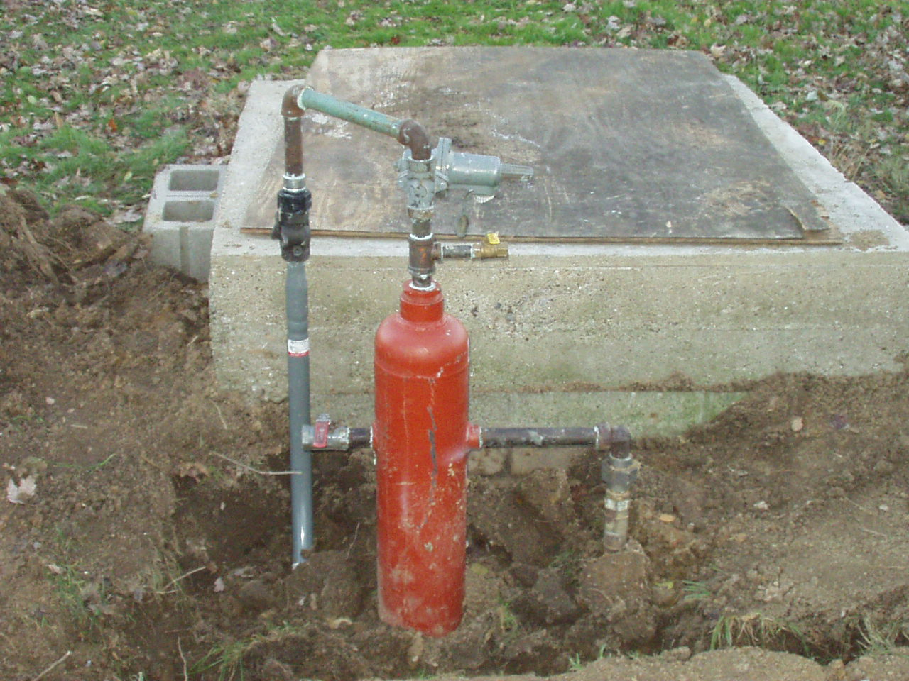 Natural Gas Well Meter : Private natural gas well discussion on topix