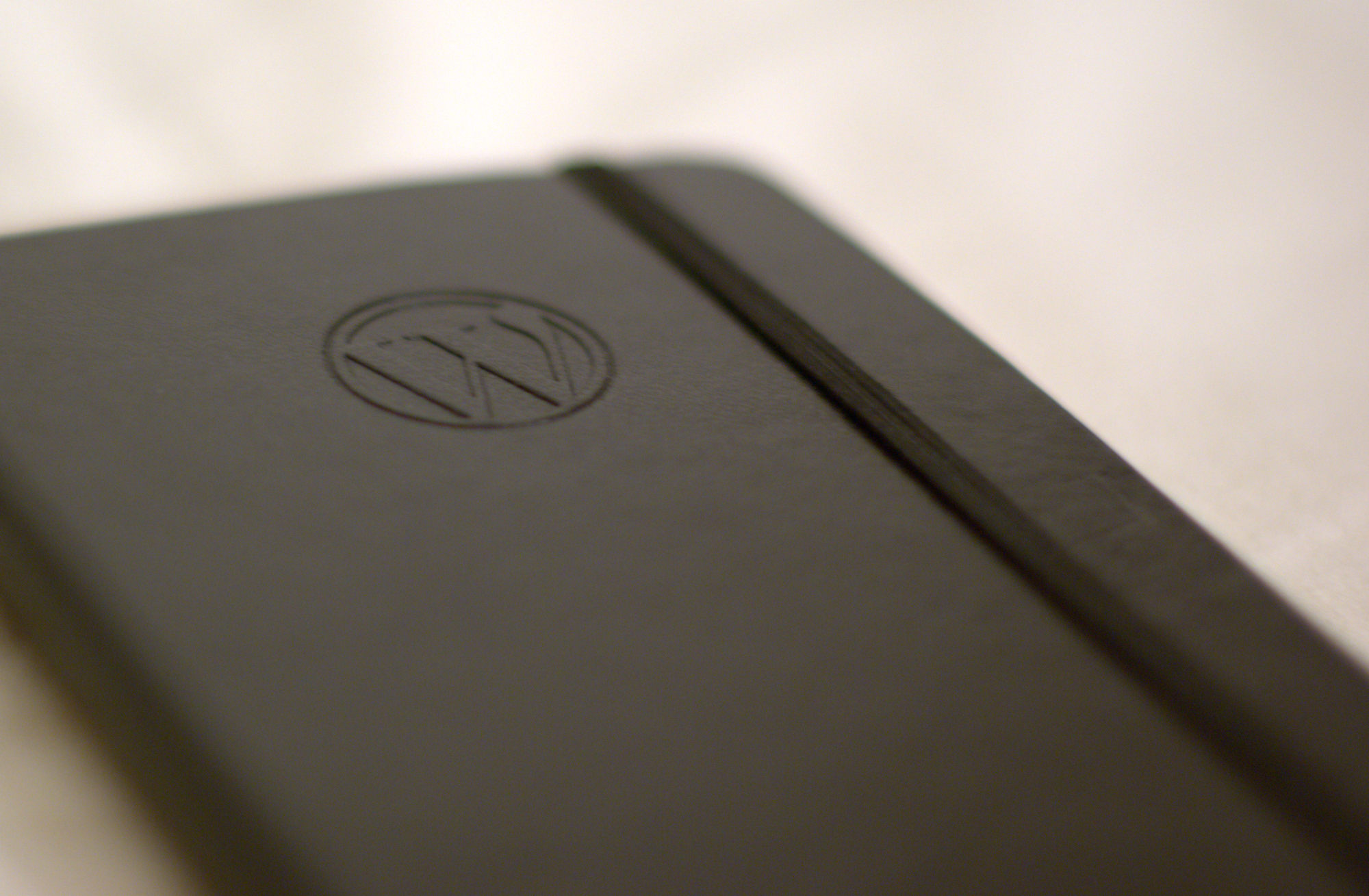 Photo:WordPress Moleskine notebook By:Nikolay Bachiyski