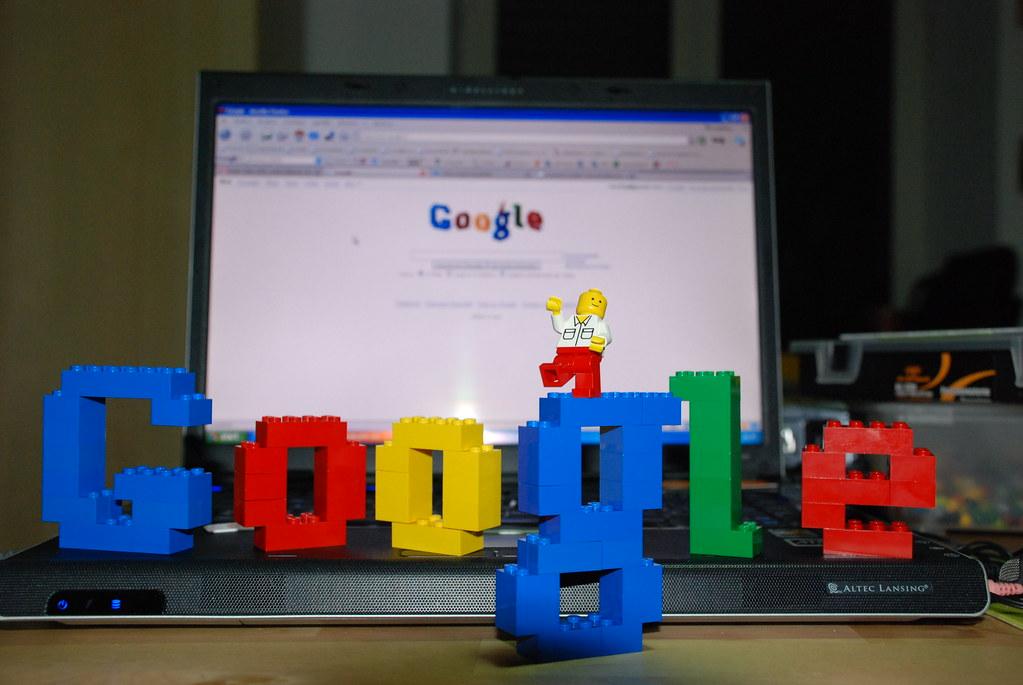 谷歌乐高50周年灵感