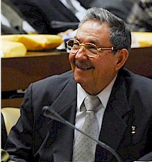 Cuban President Raul Castro Ruz at the National Assembly where he was officially elected on Feb. 24, 2008. His brother Fidel remains head of the Communist Party. by Pan-African News Wire File Photos