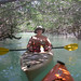 Kate Kayaks Through the Mangrove Canopy by Susan Sharpless Smith