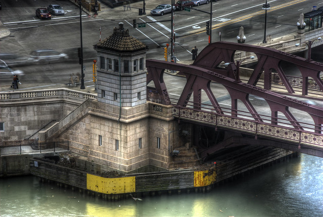 Chicago's Franklin Street Bridge: I