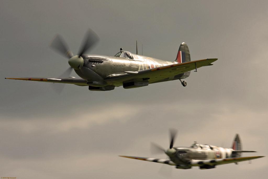 Spitfire Avión