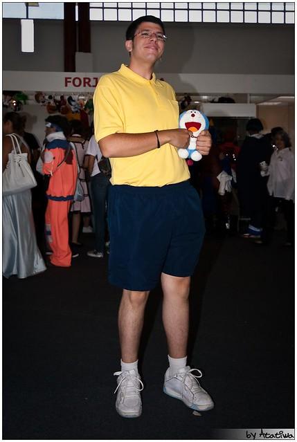 III Salón del Manga 09 16/05/09 Nobita y mini-Doraemon