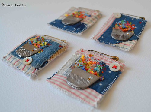 thimble brooches